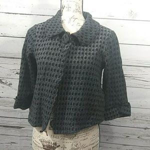 🍀Sz Medium Dressbarn 1 button coat